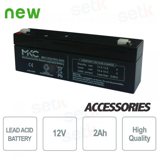Batteria / Accumulatore al piombo 12V 2.0Ah - Setik