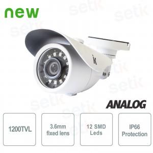 Telecamera Bullet Analogica... Setik BL1200IR36W Analogue Cameras