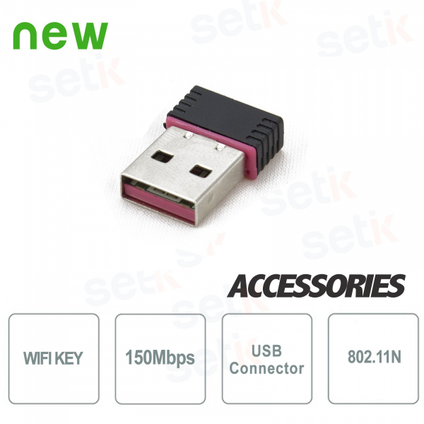WiFi key for connection of the DVRs Setik 150Mbps 802.11N