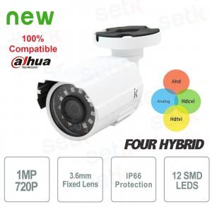 Caméra Vidéosurveillance... Setik BLHYBECO1M Caméras 4in1