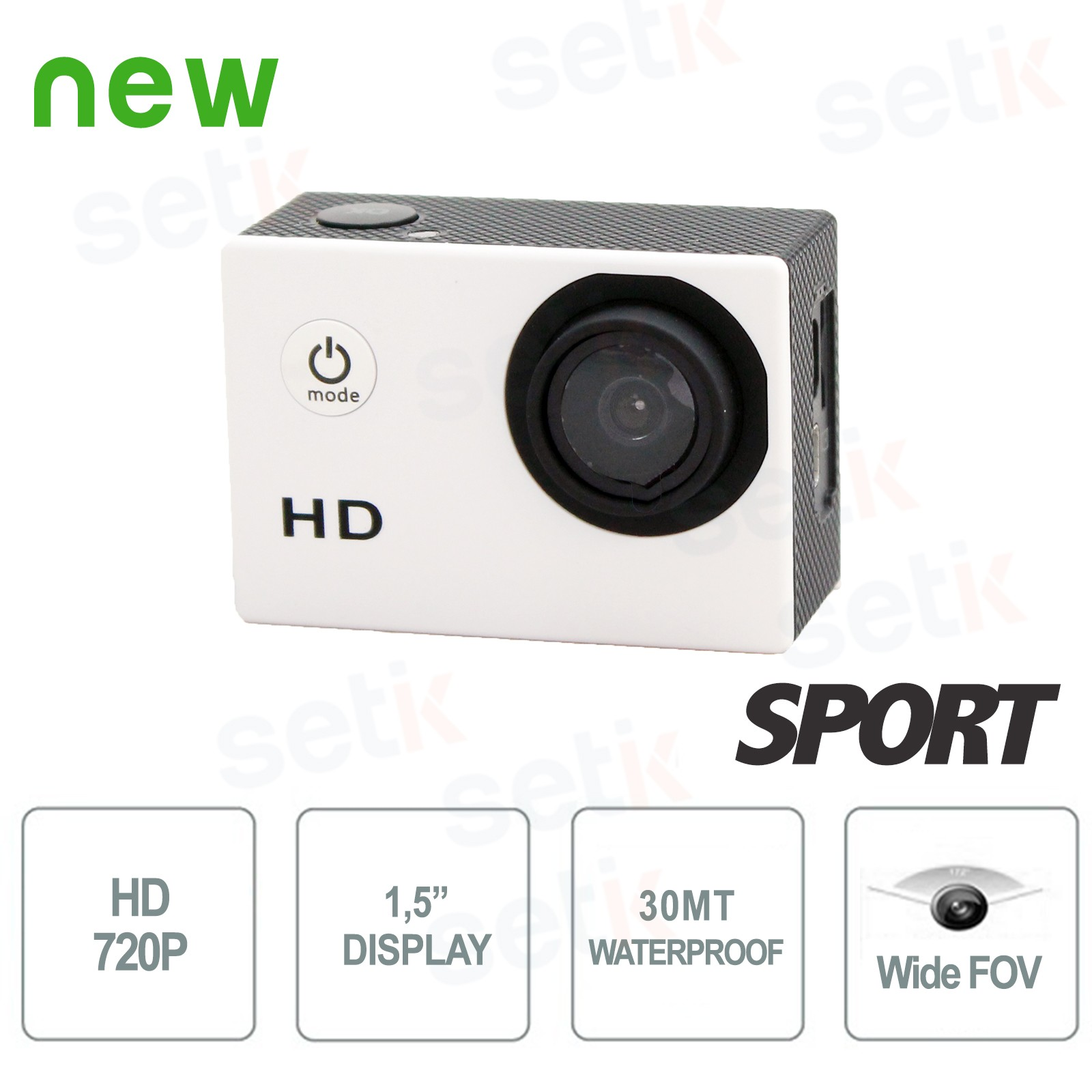SPT720 - HD Action Sport Camera - 720P - Waterproof, Photos