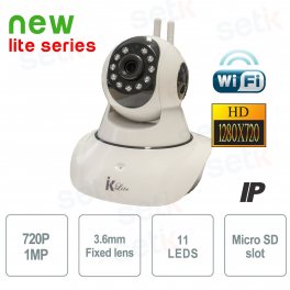 Telecamera IP Wireless Smart Home HD P2P - Setik