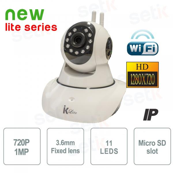 Cámara IP inalámbrica HD 720P P2P Wifi motorizada - Setik