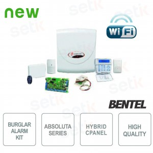 Promo Alarm Intruder Kit... Bentel Security ABS-14KITSW Complete Kit