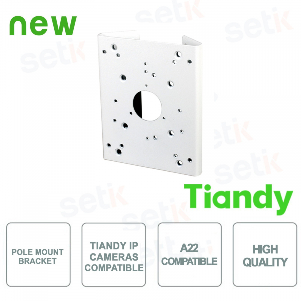 Tiandy Junction Box for Bullet and Dome cameras - 100% Aluminium
