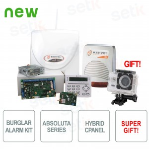 Promo Kit Antifurto ABS42 Bentel... Bentel Security KITABS42 Complete Kit