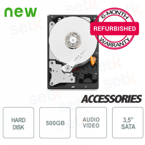 "Hard Disk HD 500GB 3.5"" -... Setik HD500U Hard Disk"