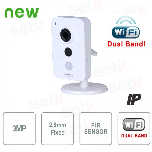 Telecamera IP 3MP WiFi Dual Band 2.8mm P2P Dahua
