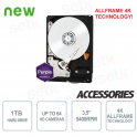 "Hard Disk HD 1TB Audio Video SATA 3.5"" AllFrame 4K - WD"