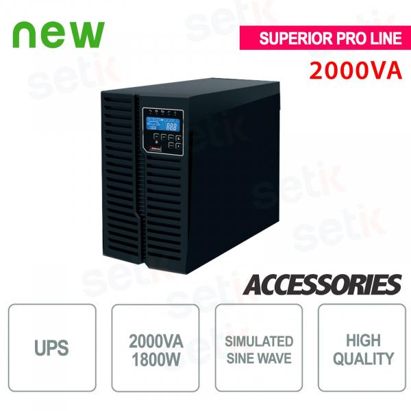 UPS 2000VA / 1800W Superior Pro UPS