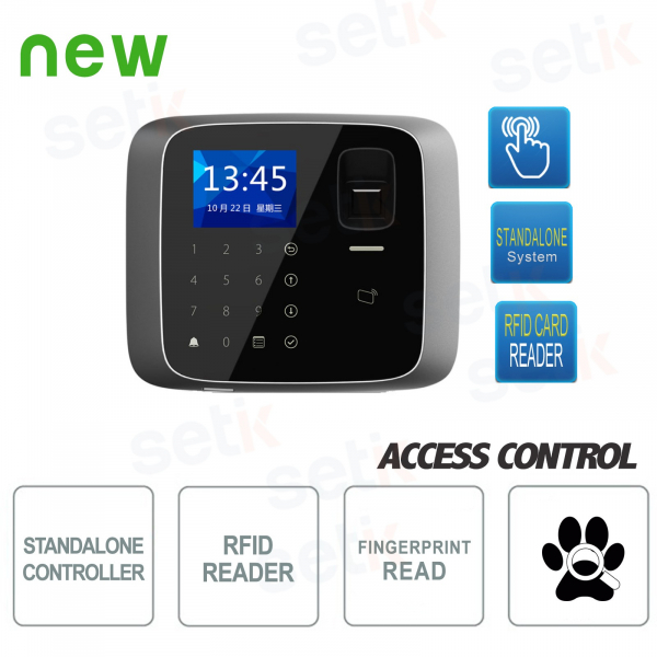 Terminale Biometrico con Lettore RFID Mifare - Dahua