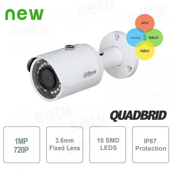 Telecamera HD CVI 4IN1 720P 3.6mm Bullet Lite - Dahua