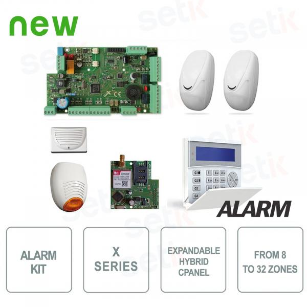 Kit Antifurto AMC X824 KIT534 Allarme Completo