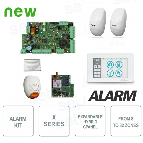 AMC Anti-theft Kit X824 KIT587 Complete Alarm