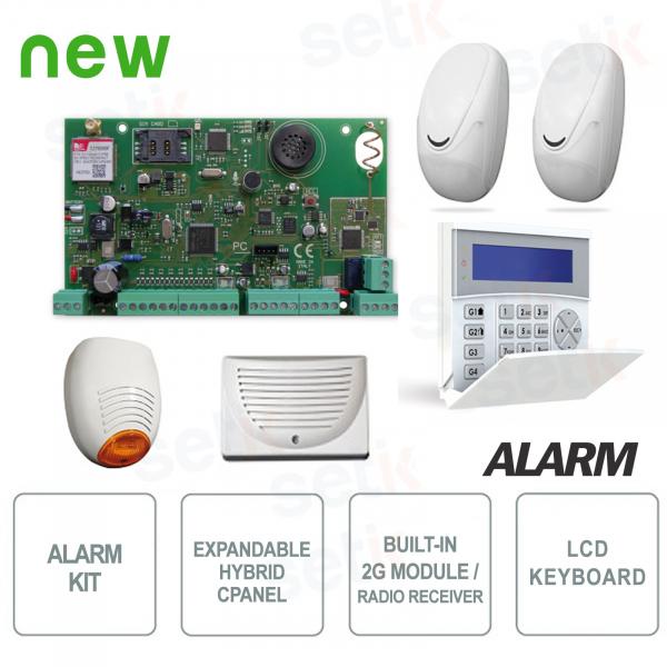 AMC Anti-theft Kit X64-2E8 KIT573 Complete Alarm