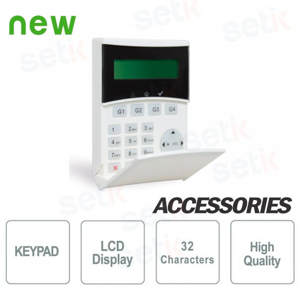 Tastiera Remota Retroilluminata LCD Light - AMC