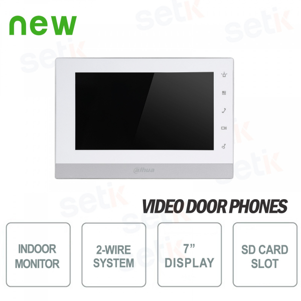 "7 ""Touch Slot SD Indoor Alert Line Station - Dahua"