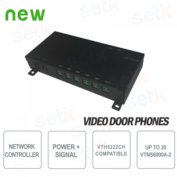 Data / Power Distributor for Dahua two-wire system VTH5222CH