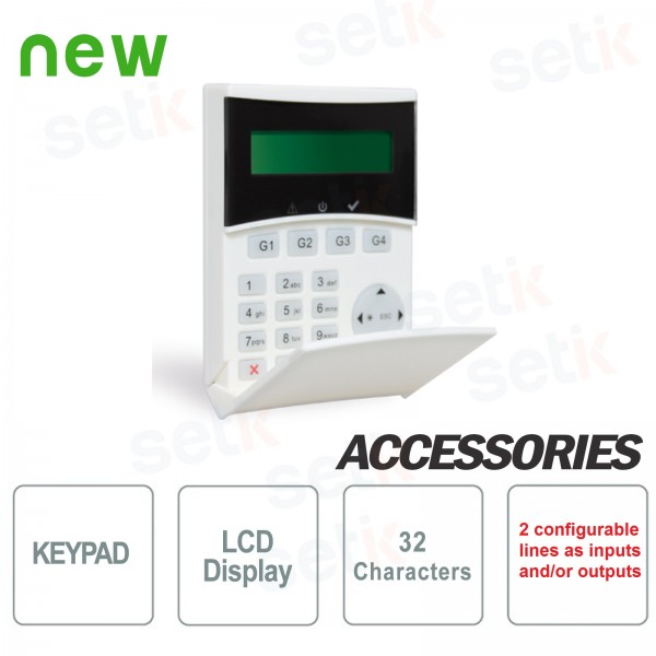 Tastiera Remota Retroilluminata LCD Light Plus - AMC