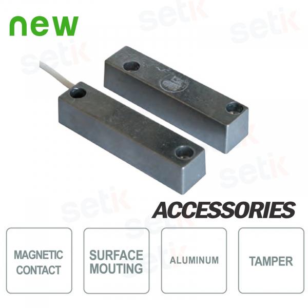 Contatto Magnetico a Vista di Potenza - Alluminio - CSA