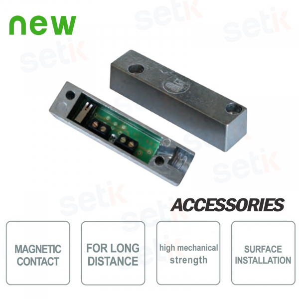 Self-protected power magnetic contact - CSA