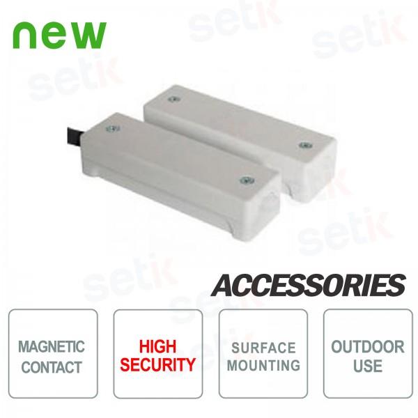 Contatto magnetico ad alta sicurezza IP65 - CSA