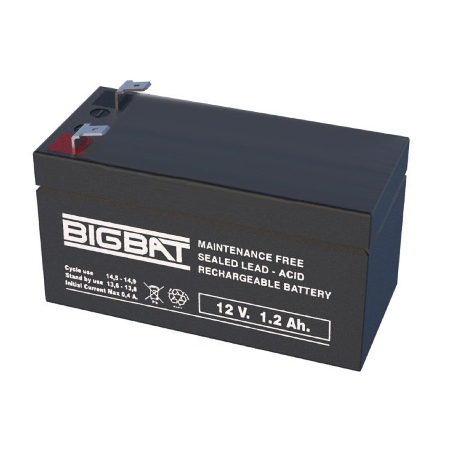 bat12v 1 2 batterie accumulateur au plomb 12v 1 2ah setik prix. Black Bedroom Furniture Sets. Home Design Ideas