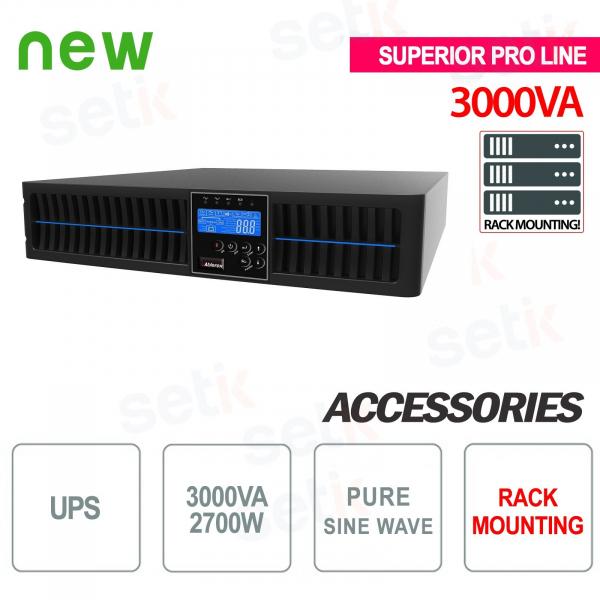 UPS UPS 3000VA 2700W RACK - Superior Pro