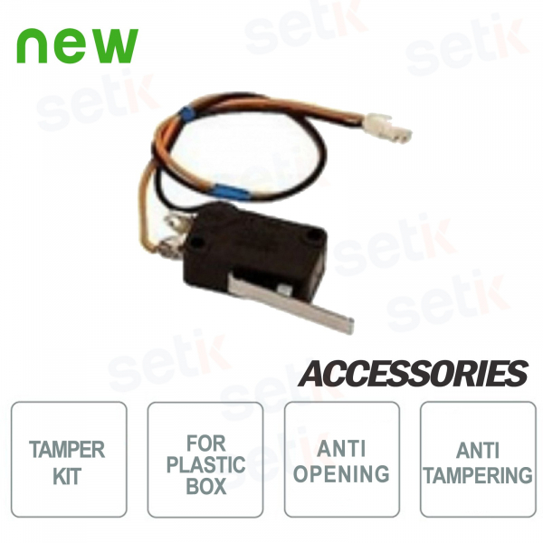 Tamper-proof AMC tamper kit for plastic box