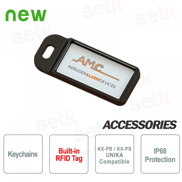 Keychain with RFID tag - AMC Elettronica