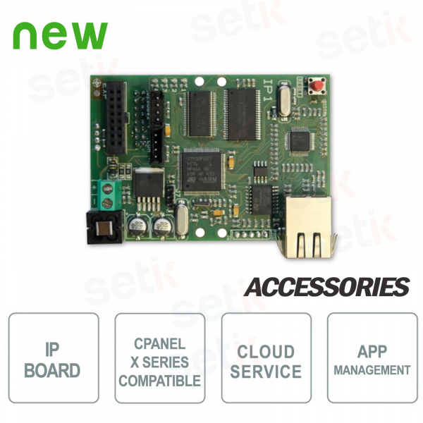 IP card for X - AMC series control units