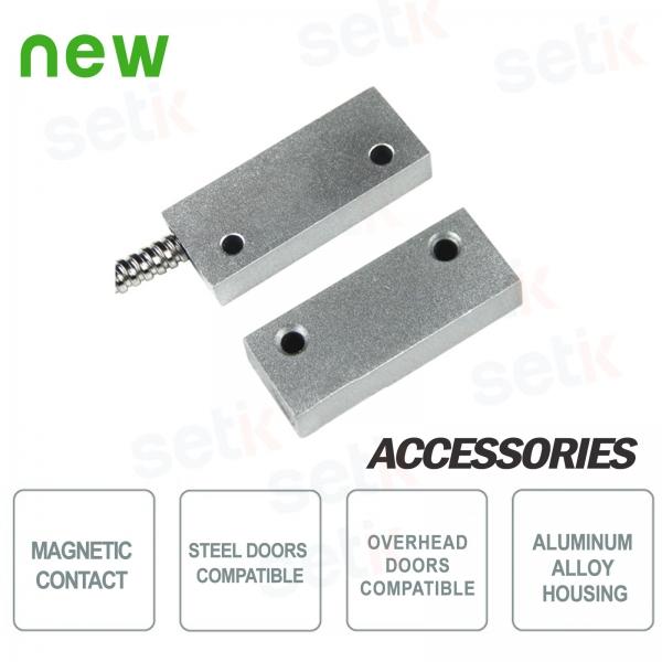 Contatto Magnetico a vista in metallo Setik CSA 403-AP