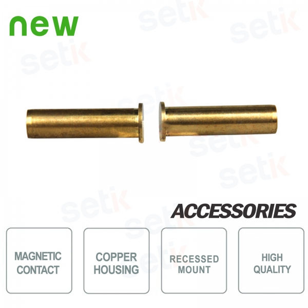 Setik CSA 314-CSA copper flush mounting magnetic contact