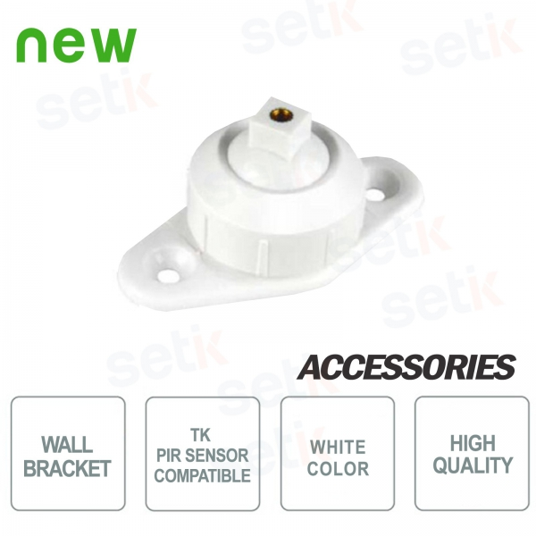 Wall bracket for PIR motion detectors by Setik - TK Series