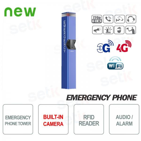 Telefono di emergenza colonnina SOS con telecamera Dahua