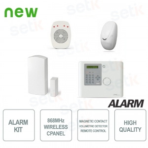 AMC Wireless Alarm 868Mhz Home Alarm System