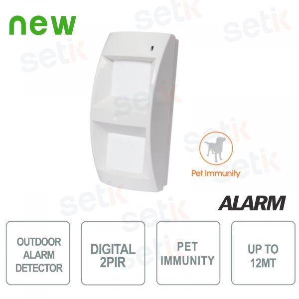 Sensore da esterno digitale Pet Immune - AMC