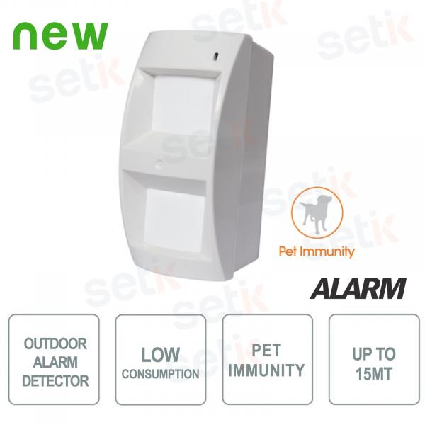 Low-consumption outdoor sensor - AMC