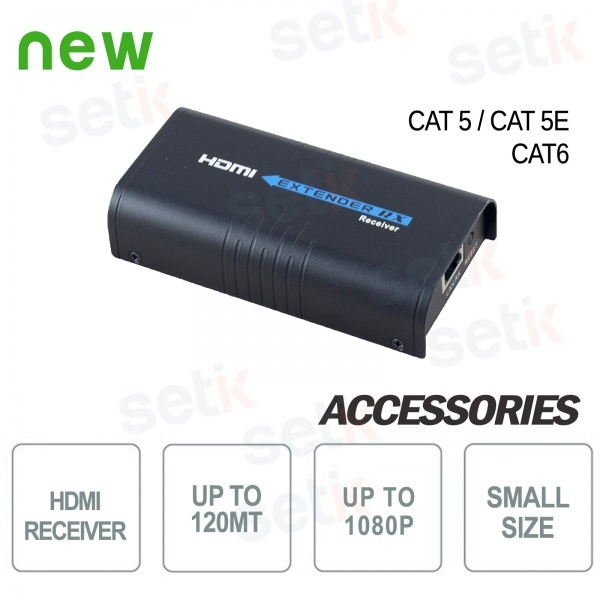 Ricevitore HDMI Extender 120MT 1080P - Setik