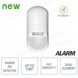 Sensore di movimento allarme PIR PET Immune BMD501