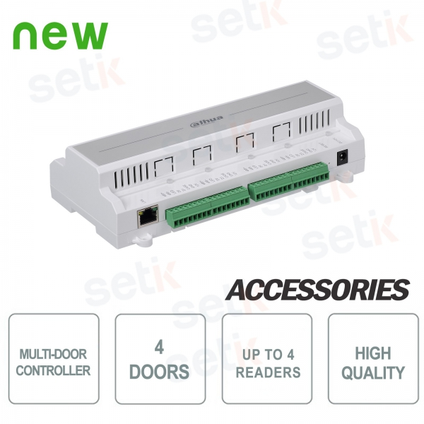 Access controller for four Dahua doors