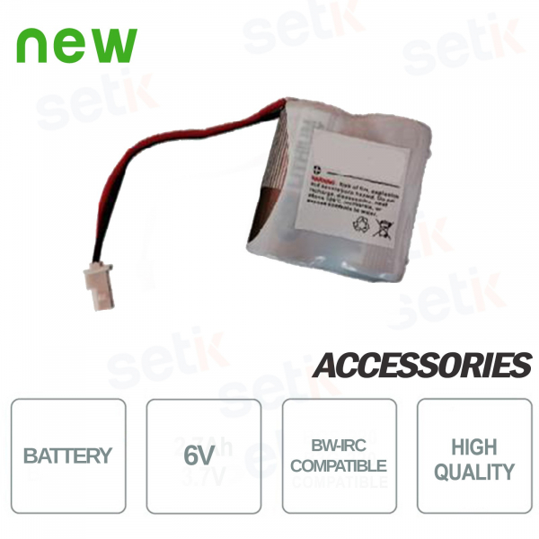 Replacement battery for BW-IRC Bentel sensor