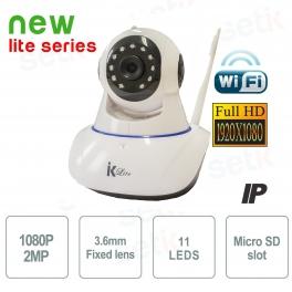 Telecamera Wifi IP Motorizzata Wireless FULL HD 1080P P2P - Setik