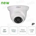 IP Camera ONVIF PoE 2MP IR 2.8mm Dahua