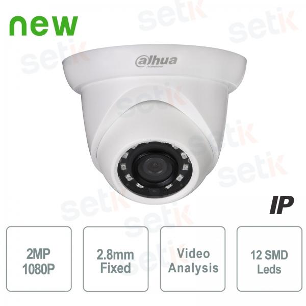 Telecamera IP ONVIF PoE 2MP IR 2.8mm Dahua