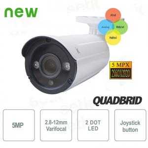 Hybrid Bullet Camera 5MP 4in1... Setik BLHYB5M2812IRW 4in1 Cameras