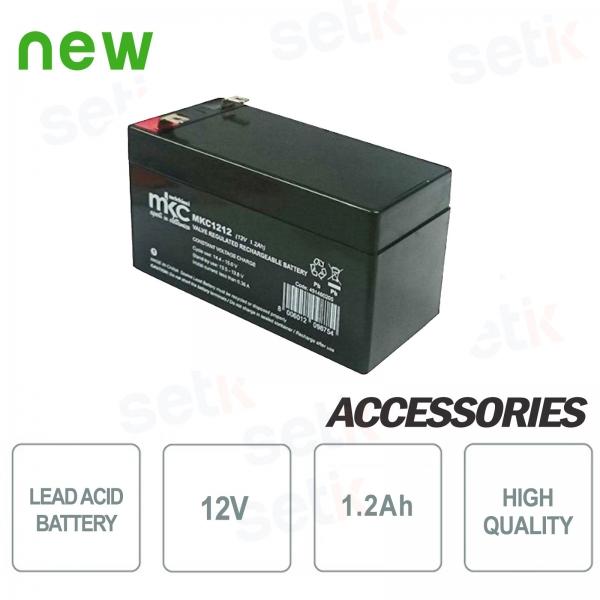 Batteria / Accumulatore al piombo 12V 1.2Ah - Setik