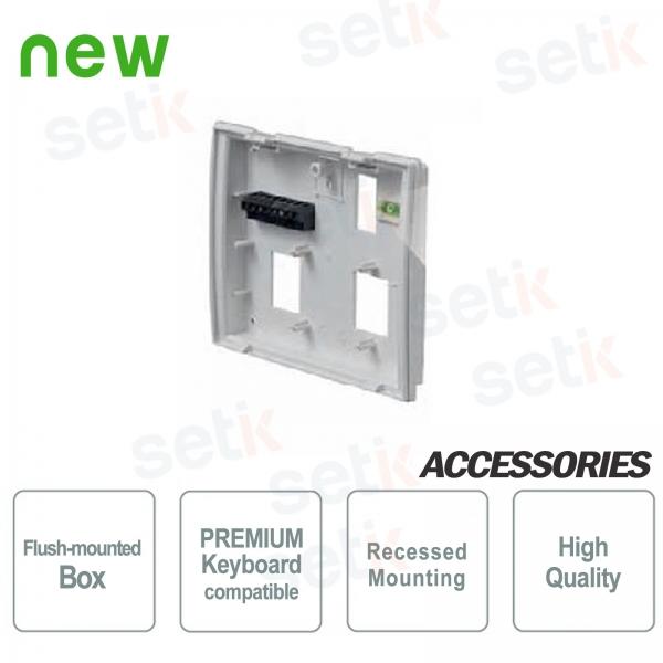 PREMIUM flush-mounted box for Bentel keyboard