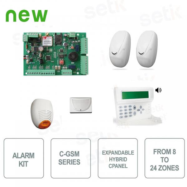 AMC Burglar Alarm Kit C24GSM / PLUS KIT501 Complete Alarm