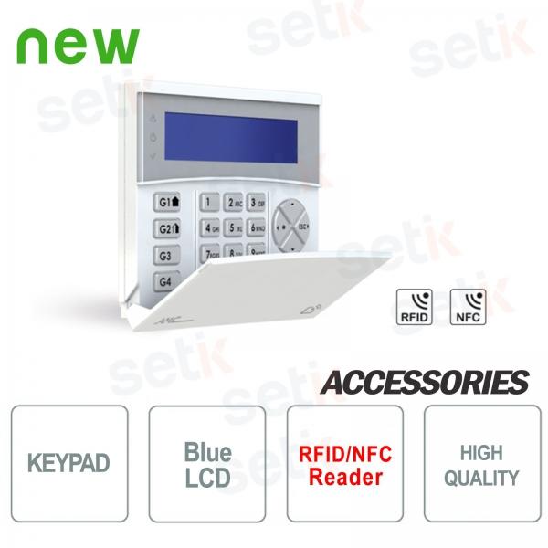 BKP-LCD BENTEL ALLARME ANTIFURTO TASTIERA PREMIUM LCD